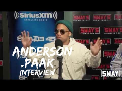 """Anderson .Paak On Having Fun Creating """"Bubblin"""" Video, .PaakHouse Foundation and Freestyle"""