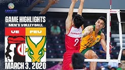 UE vs. FEU - March 3, 2019 | Game Highlights | UAAP 82 MV