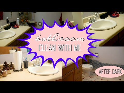 CLEAN MY BATHROOM WITH ME • COLLAB WITH JORDANS LIFE • ULTIMATE CLEANING MOTIVATION