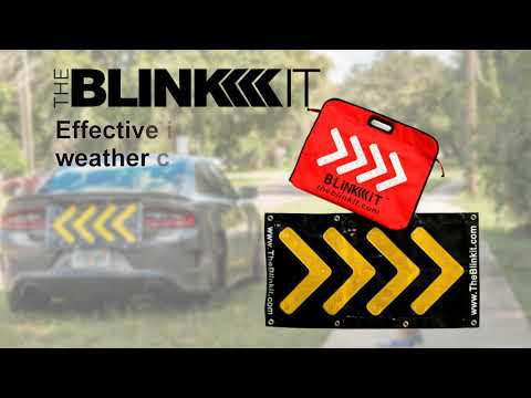 The Blinkit. The PATENTED Safety Device That Saves Lives