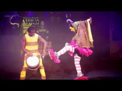 AFRICAN ACROBATS  MANAGEMENT ZAULI DANCE ACT #001