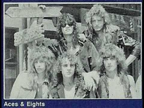 Aces & Eights - Black Roses