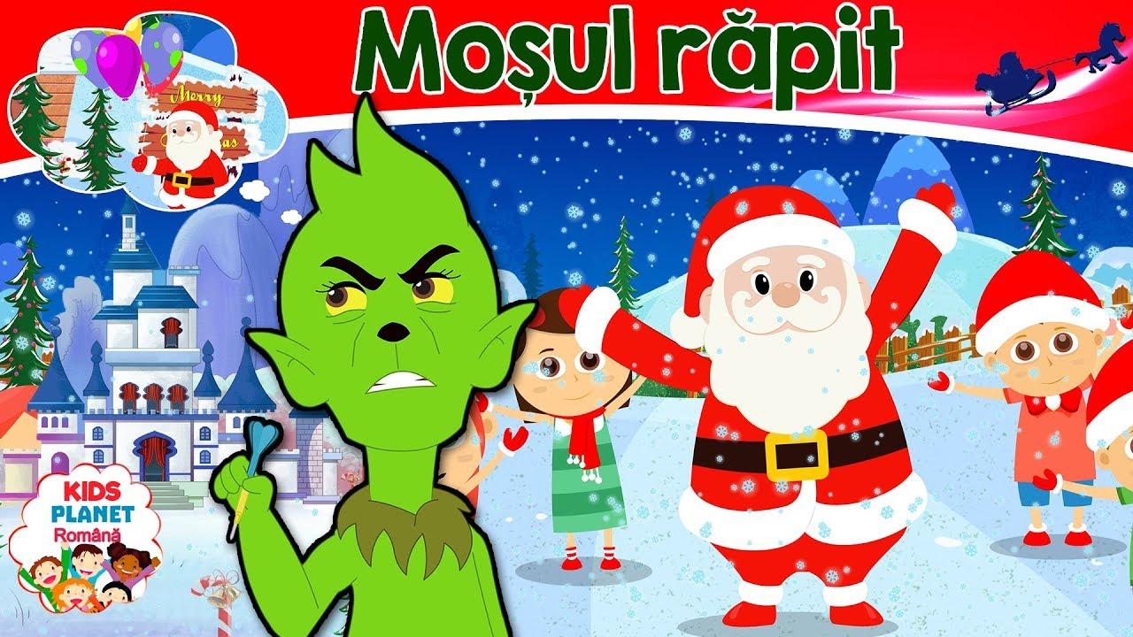 Rapita lui Mos Craciun | Povești pentru copii | Desene animate | Basme În Limba Română | Povești