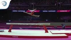 Melanie DE JESUS DOS SANTOS (FRA) - 2018 Artistic Gymnastics Europeans, beam final