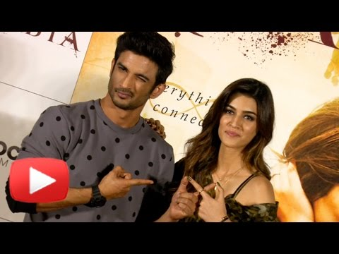 Thumbnail: Sushant Singh Rajput & Kriti Sanon SMART ANSWER On Their Relationship Status