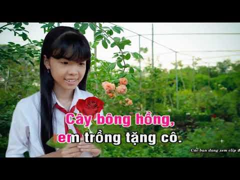Bông Hồng Tặng Cô   Karaoke Xuân Mai online video cutter com