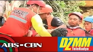 DZMM TeleRadyo: Death toll sa landslide sa Naga City, Cebu, tumaas pa | Part 1