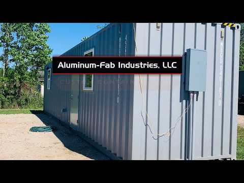 Aluminum Fab Industries Custom Shipping Container Home