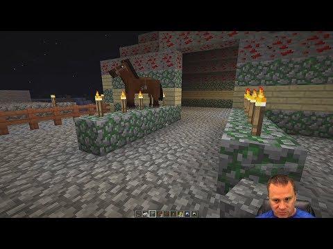 My Horse Farm   Minecraft EP-13   Gaming With Shawn Davis