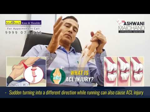 Anterior Cruciate Ligament ACL Injuries: Dr. Ashwani Maichand