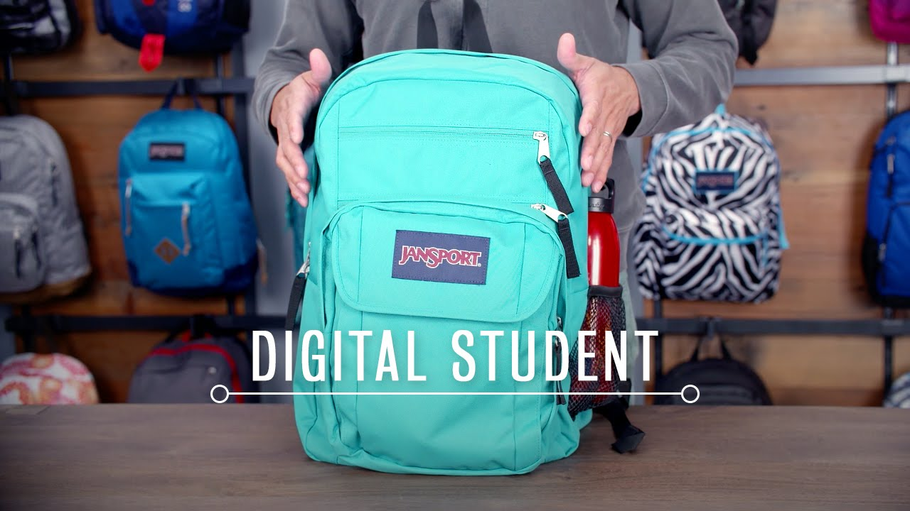 JanSport Pack Review: Digital Student - YouTube