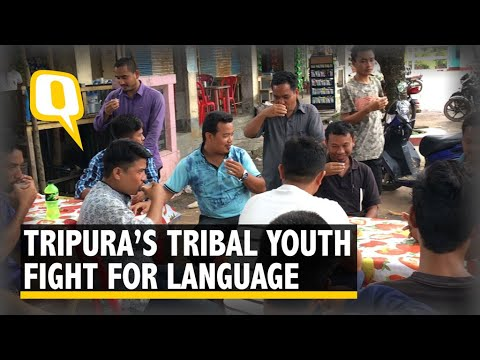 Tripura's Tribal Youth Unhappy With Government Bid To Replace Kokborok With Hindi In Local Media