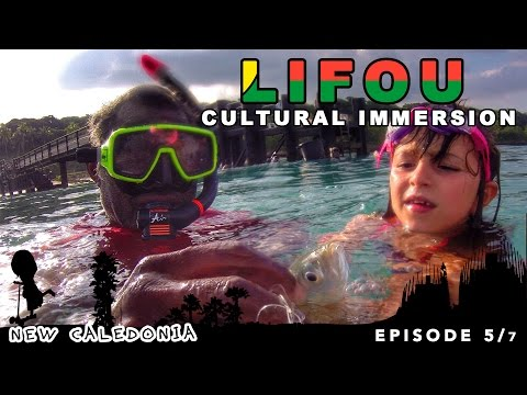 Real cultural immersion on Lifou in New Caledonia [ family travel series ]