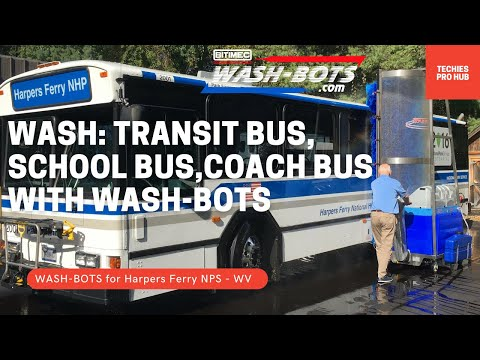 Bitimec Transit, School & Coach Bus Wash