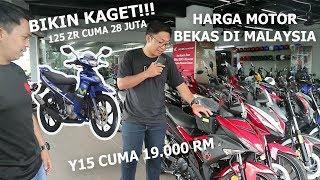 HARGA MOTOR YAMAHA 125 ZR & Y15 ZR DI MALAYSIA!