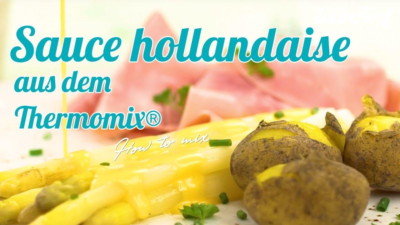 Sauce hollandaise aus dem Thermomix® TM20® & TM20