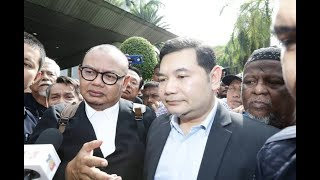 Rafizi wins appeal against Bafia conviction; supporters erupt in applause