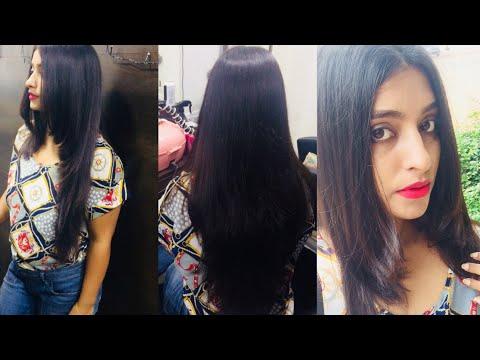 Haircut VLOG | Long Layered Haircut & Deep Conditioning