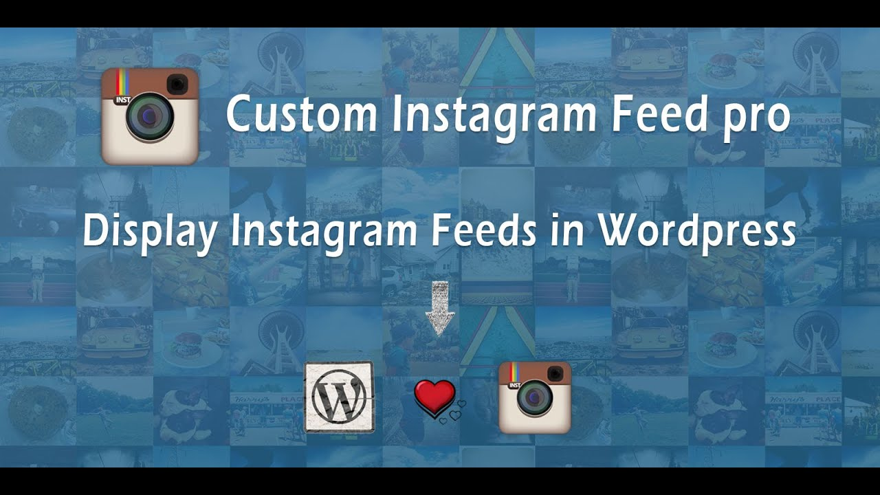 Custom Instagram Feed – WordPress plugin | WordPress org