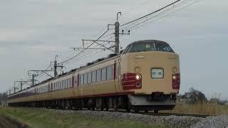 183系 C編成 グリーン車サロ込み 団体列車
