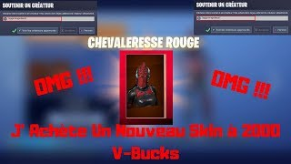 "Fortnite I Buy My Second Skin Prefer In The ""Red Horse"" Shop"