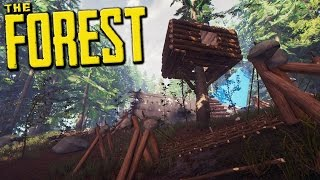 Just Leave Me Alone And Let Me Get Ready First! - The Forest Hard Mode Gameplay