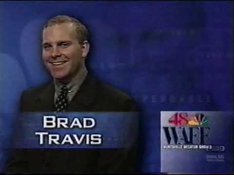 Brad Travis   WAFF 48   Bumper   2000   Huntsville Alabama