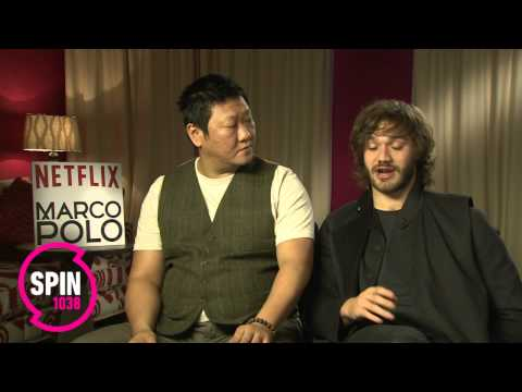 Benedict Wong and Lorenzo Richelmy Interview Marco Polo Netflix