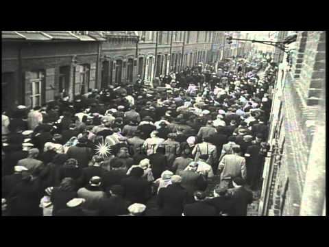 Maurice Thorez addresses a Communist gathering in Paris, France. HD Stock Footage