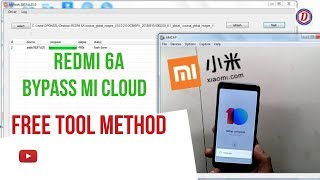 Redmi 6A Miui 10 Global Bypass Mi CloudsAnti Reload Free Tool Method