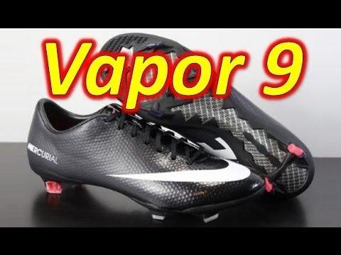 d7c79a686 Nike Mercurial Vapor 9 Black Pack - Unboxing + On Feet - YouTube