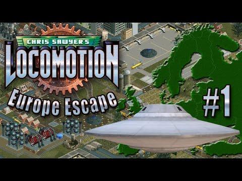 Chris Sawyer's Locomotion: Europe Escape - Ep. 1: UFO BAILOUT
