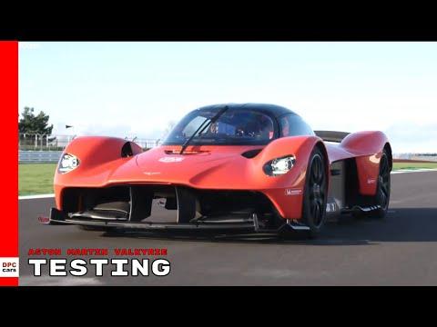 Aston Martin Valkyrie Testing