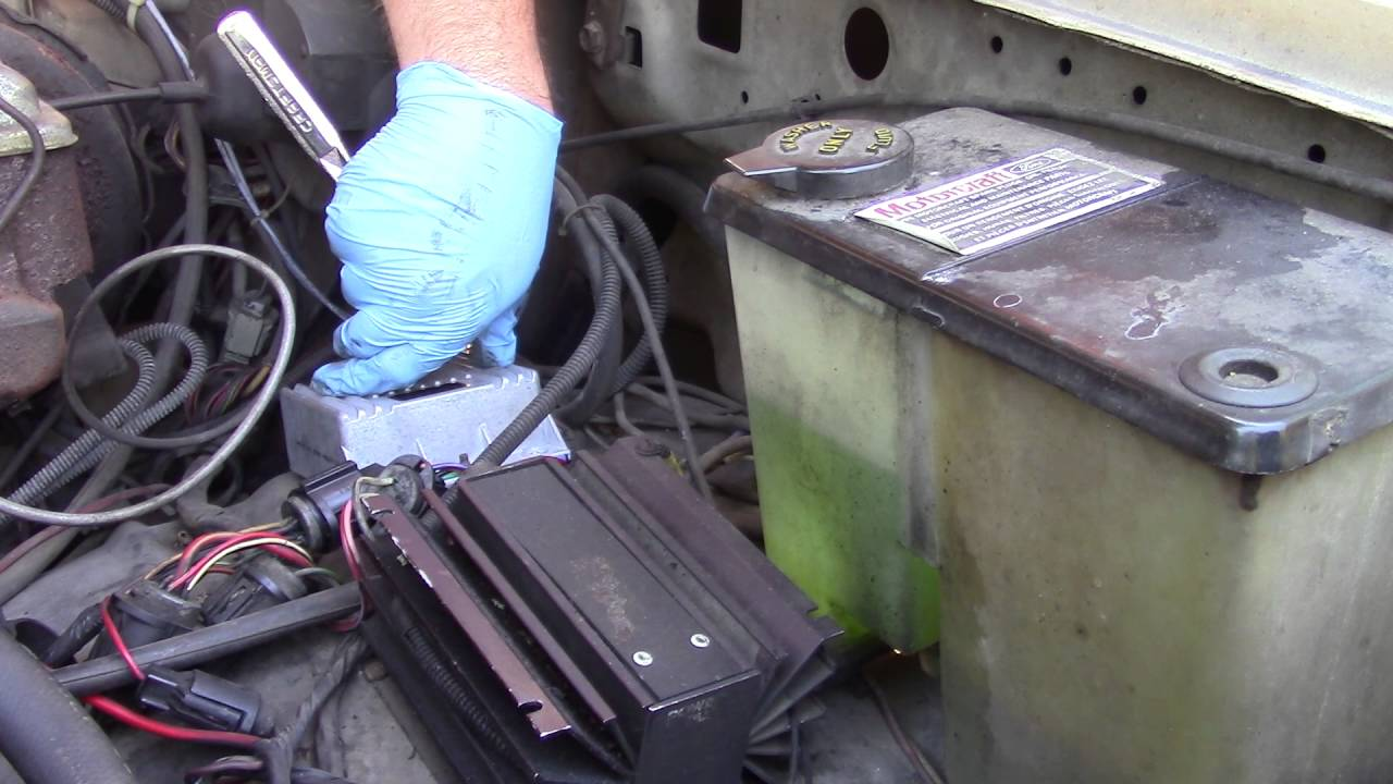 all old ford truck owners need to know ignition control module from new and  old