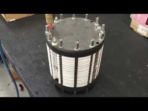 Hydrotube hydrogen generator holding 120 psi