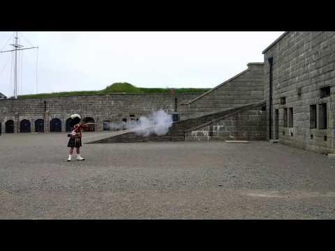Rifle Firing Demonstration at Halifax Citadel National Historic Site [Travelling Foodie]
