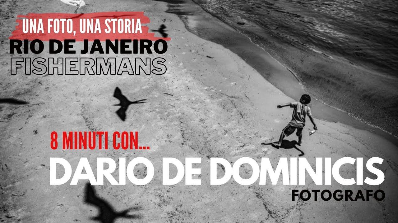 Pesca e inquinamento a RIO DE JANEIRO, 8 minuti con DARIO DE DOMINICIS