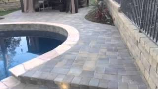 New pool, spa, pavers and more by Bedrock remodeling & building Inc