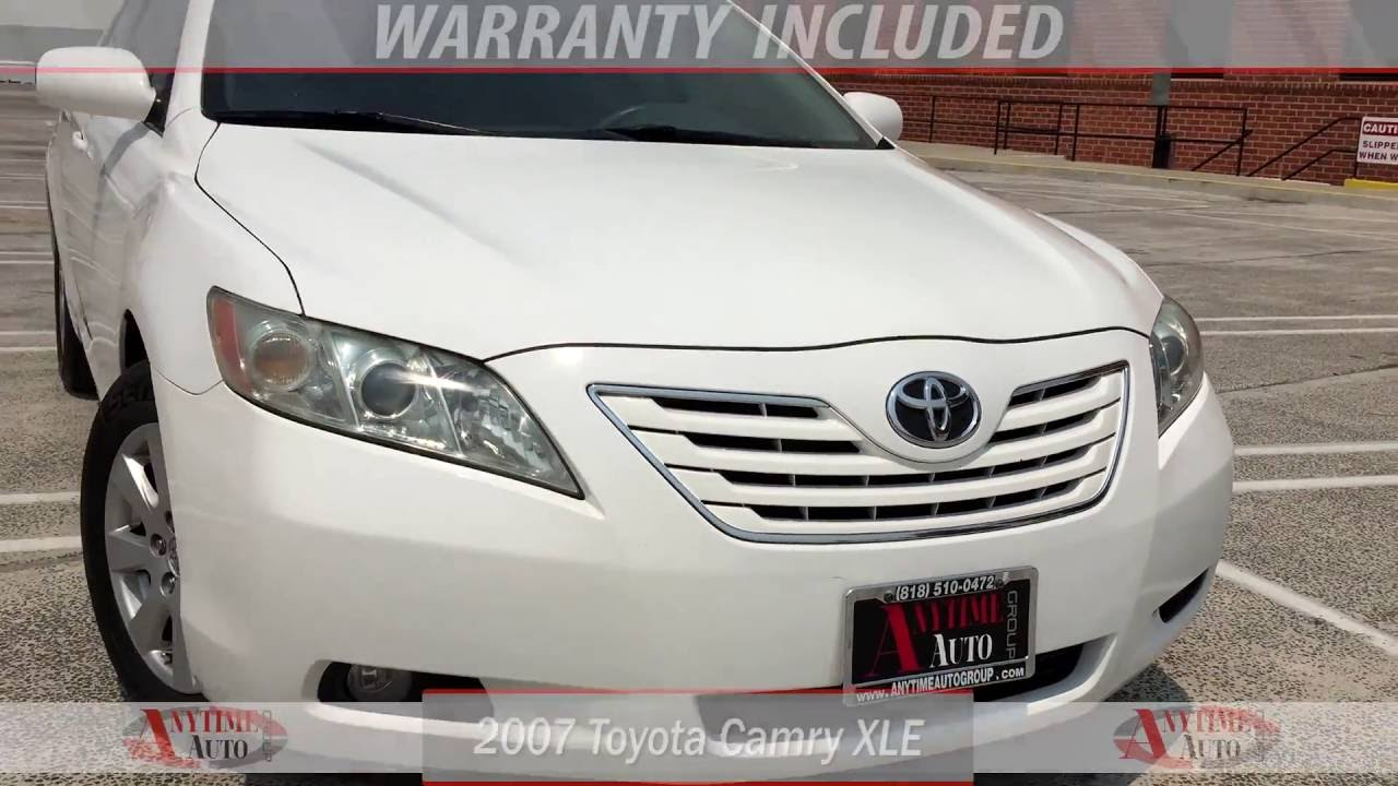 toyota camry 2007 white. 2007 toyota camry xle white 0