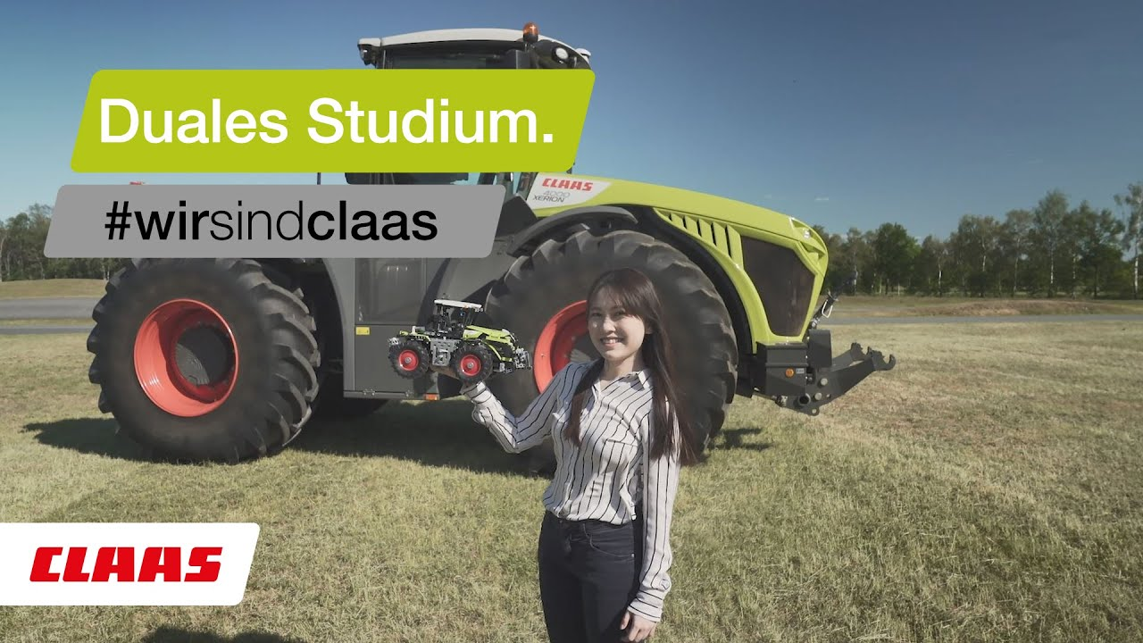 Starte Dein Duales Studium bei CLAAS.