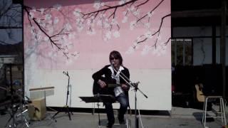 ? 中上さん 3次男坊 (玉置浩二さんカバー) 170319 恵那市岩村町ひな祭りストリートライブ