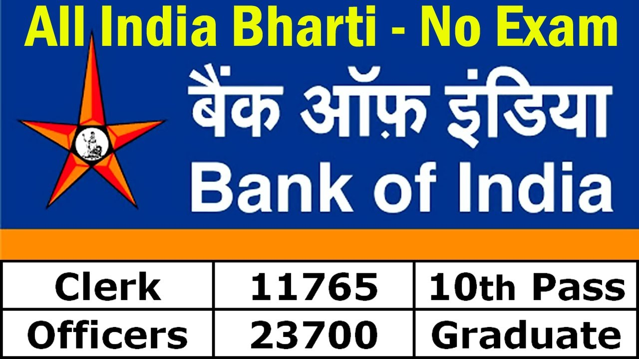 BOI Recruitment 2020 Apply Online || Bank of India Vacancy Notification
