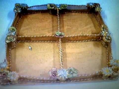 Dry fruit sweet packing trays trousseau packing aana for Aana decoration wedding accessories