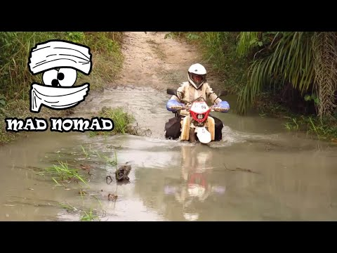 Guinea-Bissau motorcycle trip - mad nomad