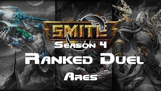 Smite - Ranked 1v1 Duel A-Z Series - Ares episode 11 Season 4