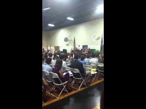 Patrick Fahey Speech - 2013 Polson Middle School Graduation