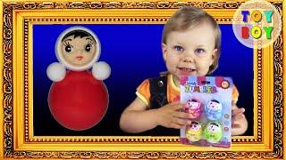 Неваляшки.  Милашки куклы неваляшки. Куклы неваляшки. #ToyBoy