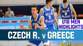 Czech Republic v Greece - Highlights - 1st Round - 2014 U18 European Championship