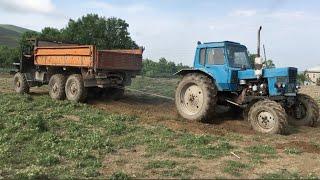 Урал Против Трактор МТЗ 82 | Сравнение 2020
