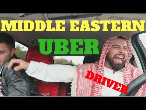 MIDDLE EASTERN UBER DRIVER